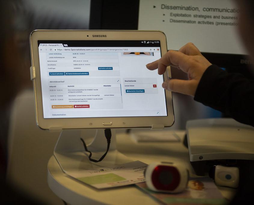 2PCS Plattform Software Tablett