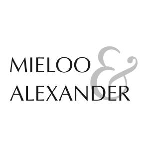 Mieloo Alexander Schriftzug mit &